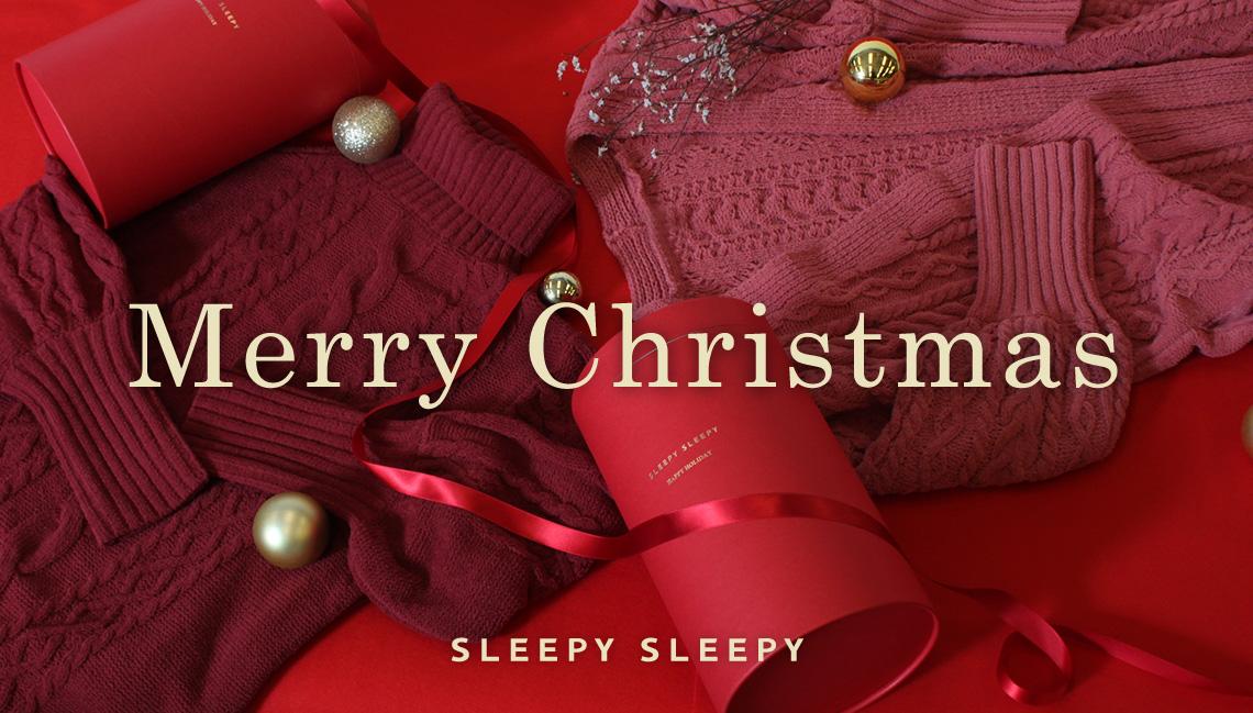 SLEEPY SLEEPYのクリスマスギフト