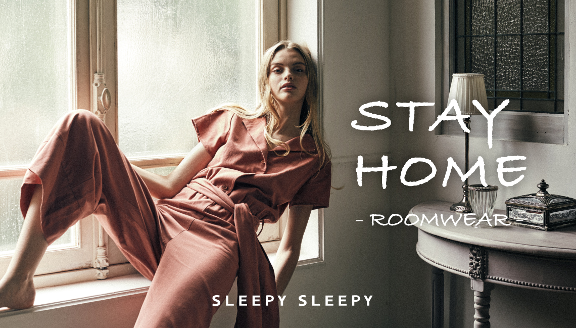 stayhome SLEEPY SLEEPYのルームウェア